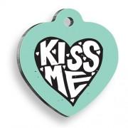 Kiss Me Kalp Kedi ve Köpek Künyesi