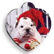 Knit Dog Kalp Köpek Künyesi