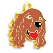 24 Ayar Altın Kaplama Cocker Köpek Künyesi