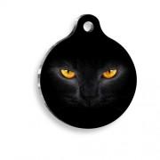 Kedi Gözü Yuvarlak Kedi Künyesi
