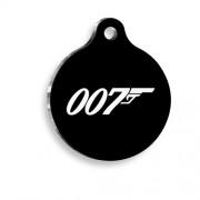 007 Yuvarlak Kedi ve Köpek Künyesi
