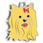 Yorkshire Terrier Köpek Künyesi (Kızıl)
