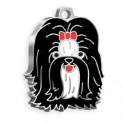 Shih-Tzu Köpek Künyesi (Siyah)