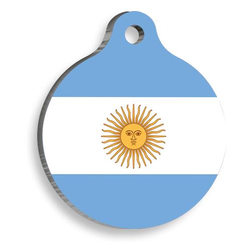 Arjantin Yuvarlak Kedi ve Köpek Künyesi