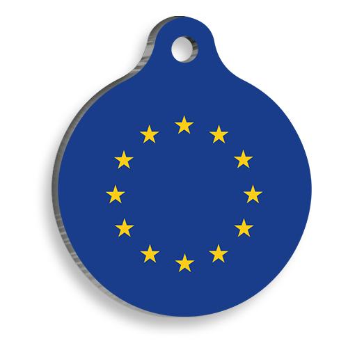 Avrupa Birliği Yuvarlak Kedi ve Köpek Künyesi